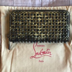 Authentic Christian Louboutin Wallet